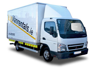 Tail Lift Van Hire
