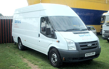 Van Hire in Bedford
