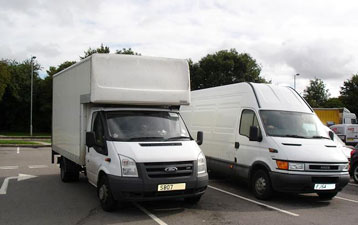 Van Hire in Northwich