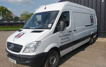 Van Hire in Wellingborough